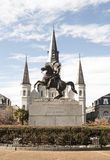 Jackson statue Stock Image