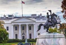 Jackson Statue Lafayette Park White-Haus-Washington DC Stockbilder
