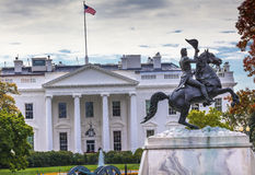 Jackson Statue Lafayette Park White House Washington DC Stock Images