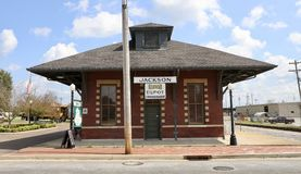 Jackson Tennessee Train Depot Photos stock