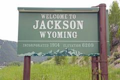 Jackson Wyoming Royalty Free Stock Images
