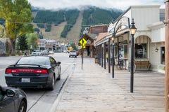 Jackson, Wyoming Image stock