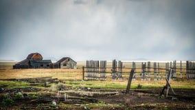 JACKSON, WYOMING/USA - 30 SEPTEMBER: Mening van Mormoonse Rij dichtbij Ja Royalty-vrije Stock Foto