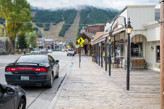 Jackson, Wyoming Stock Image