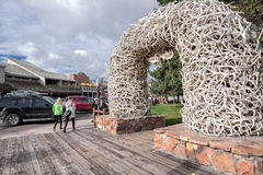 Jackson, Wyoming Royalty Free Stock Image