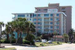 City of jacksonville beach in florida. Jacksonville Beach is a coastal resort city in Duval County, Florida, United States royalty free stock photography