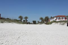City of jacksonville beach in florida. Jacksonville Beach is a coastal resort city in Duval County, Florida, United States stock photography