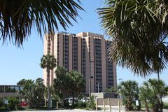 City of jacksonville beach in florida. Jacksonville Beach is a coastal resort city in Duval County, Florida, United States royalty free stock photos