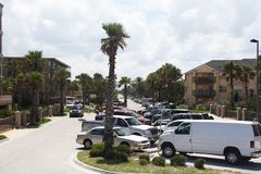 City of jacksonville beach in florida. Jacksonville Beach is a coastal resort city in Duval County, Florida, United States royalty free stock photo