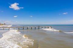 Free Jacksonville Beach Fishing Pier Stock Image - 182545761