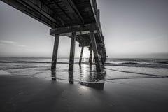 Free JACKSONVILLE BEACH FISHING PIER SUNRISE Royalty Free Stock Photography - 137980067