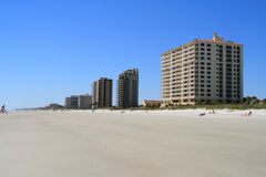 Jacksonville Beach Florida Royalty Free Stock Photos