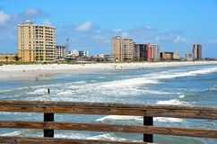Jacksonville Beach Florida Stock Image
