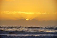 Jacksonville beach sun rise. A beach sun rise  taken in Jacksonville, florida Royalty Free Stock Photos