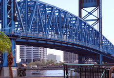 Jacksonville Bridge Stock Photos