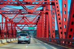 Jacksonville bridge in florida USA Stock Image