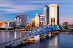 Jacksonville Cityscape Stock Photo