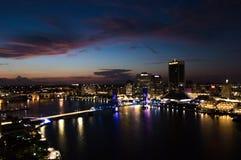 Jacksonville da baixa imagem de stock royalty free