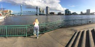 Jacksonville do centro Fl Fotografia de Stock
