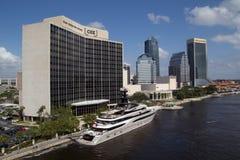 Jacksonville do centro, Florida foto de stock