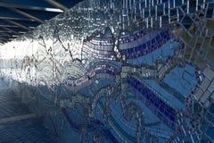 Jacksonville, Florida Riverwalk, mosaico Fotografia Stock Libera da Diritti