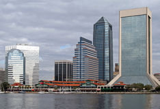 Jacksonville Florida Skyline Royalty Free Stock Photography