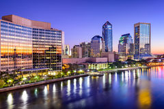 Jacksonville, Florida Skyline Royalty Free Stock Photos