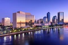 Jacksonville Florida Skyline Royalty Free Stock Images