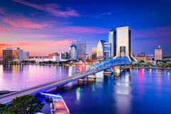 Jacksonville Florida Skyline Stock Photos