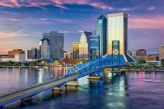 Jacksonville, Florida, USA. Downtown city skyline Stock Photo