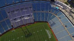 Jacksonville Jaguars EverBank Field stock video