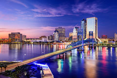 Jacksonville, la Florida, los E.E.U.U. Fotos de archivo
