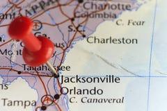Jacksonville, la Florida, los E.E.U.U. fotografía de archivo libre de regalías