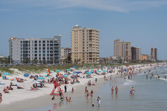 Jacksonville plaża obraz royalty free