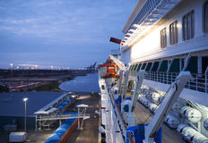 Jacksonville port Royaltyfria Bilder