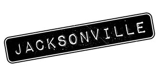 Jacksonville rubber stamp Stock Images