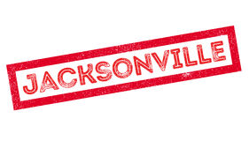 Jacksonville rubber stamp Royalty Free Stock Images