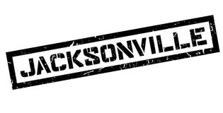 Jacksonville rubber stamp Stock Image