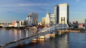 Jacksonville Skyline stock video