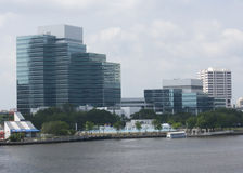 Jacksonville south skyline royalty free stock image