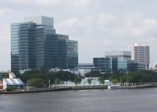 Jacksonville south skyline Royalty Free Stock Image