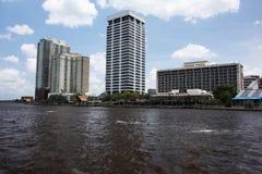 Jacksonville-Stadt stockfotos