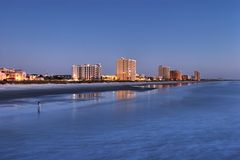 Jacksonville-Strand Lizenzfreies Stockfoto