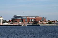Jacksonville van de binnenstad, Florida langs de St Johns Rivier Stock Fotografie