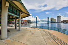 Jacksonville Waterfront Stock Image