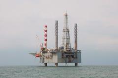 Jackup Drilling Unit Stock Image