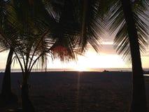 Jaco Beach sunset Royalty Free Stock Photos