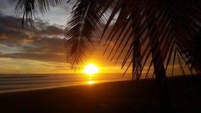 Jaco plaża Costa Rica Fotografia Stock