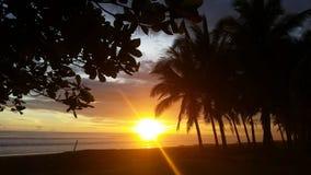 Jaco plaża Costa Rica Zdjęcia Royalty Free