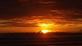Jaco plaża Costa Rica Obrazy Stock